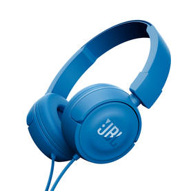 JBL T450 ON-EAR KUULOKKEET SININEN - Kuulokkeet - 6925281918971 - 1