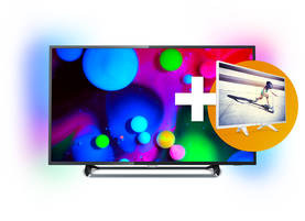 "PHILIPS 65PUS6262/12 65"" UHD SMART TV - yli 50 tuumaiset - 8718863012383 - 1"