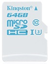 KINGSTON 64GB MICROSDXC UHS-I - Muistikortit - 740617251944 - 1