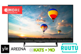 "SONY KD49XE8099BAEP 49"" 4K ULTRA HD HDR ANDROID SMART TV - 40-50 tuumaiset - 4548736052024"