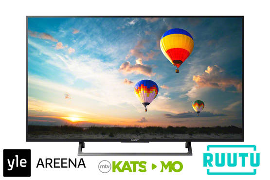 "SONY KD55XE8096BAEP 55"" ULTRA HD HDR ANDROID SMART TV - yli 50 tuumaiset - 4548736051904 - 1"