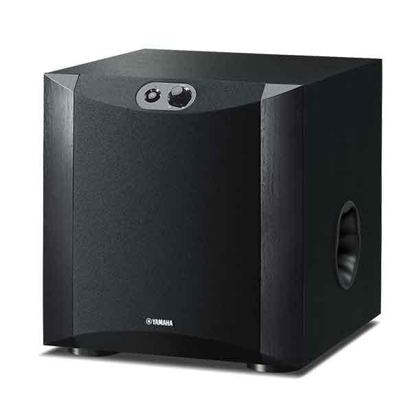 yamaha ns sw300 musta tehokas aktiivisubwoofer. Black Bedroom Furniture Sets. Home Design Ideas