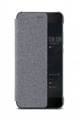 HUAWEI P10 PLUS FLIP COVER LIGHT GREY - Laukut ja kotelot - 6901443158775 - 1
