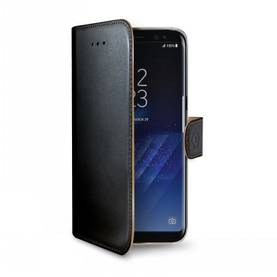 CELLY SAMSUNG GALAXY S8+ WALLY CASE BLACK - Laukut ja kotelot - 8021735726296 - 1