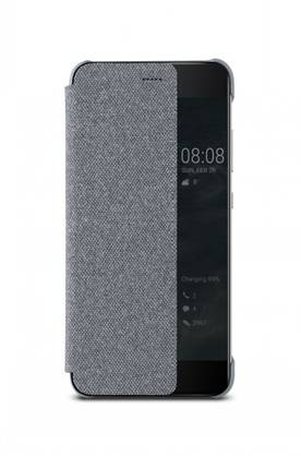 HUAWEI P10 FLIP COVER LIGHT GREY - Laukut ja kotelot - 6901443158867 - 1