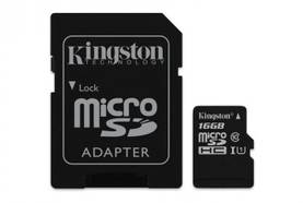 KINGSTON 128GB MICROSDXC CL10 - Muistikortit - 740617246247 - 1