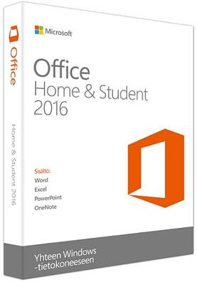 MS OFFICE HOME&STUDENT 2016 FI - Office - 889842091717 - 1