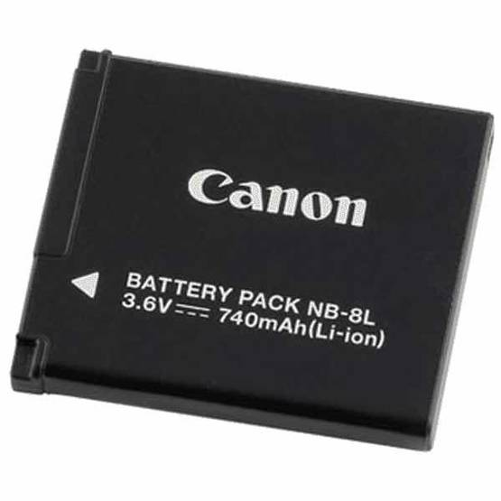 CANON NB8L BATTERY PACK - Akut - 4960999661407 - 1