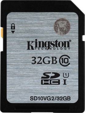 KINGSTON 32GB SDHC CL10 UHS-I - Muistikortit - 740617243468 - 1
