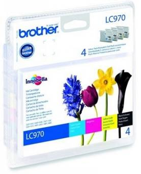 BROTHER LC970 INK VALUE PACK - Musteet, paperit ja väripatruunat - 5014047560729 - 1