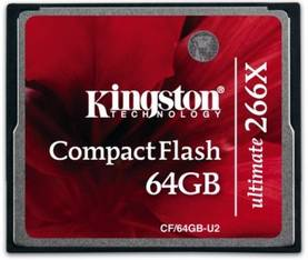 KINGSTON ULTIMATE 266X 64GT - Muistikortit - 740617217209 - 1